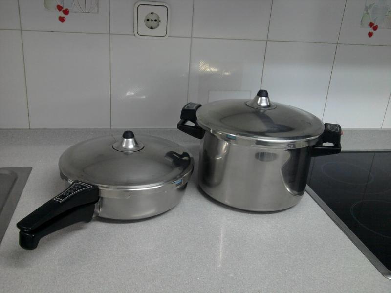 Qu opin is de la bater a de cocina amc cocci n sin grasas p gina 2 cocina y thermomix - Amc baterias de cocina ...