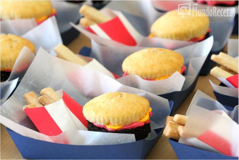 Hamburguesas dulces para cumplea os de los ni os cocina for Cumpleanos cocina para ninos