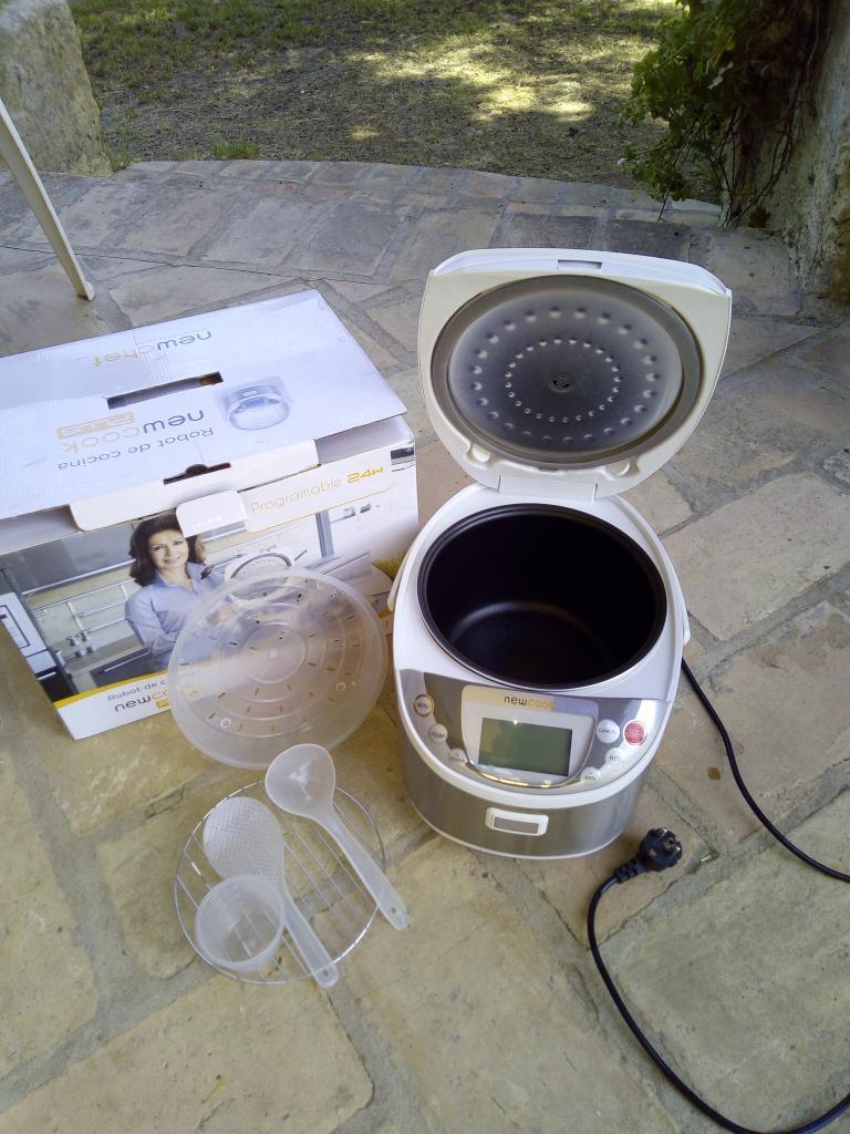 Robot newcook plus 5l con voz vendido el mercadillo compra y venta - Newcook plus ...