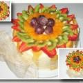 Receta: Charlota de frutas frescas por Mafalda