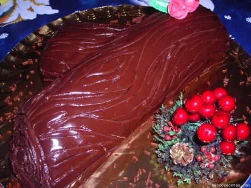 Receta: Tronco de navidad por Gijonesa