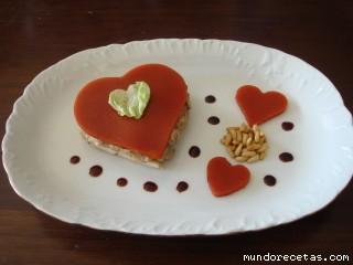 Corazones de Amante para San Valentín por Tuxa
