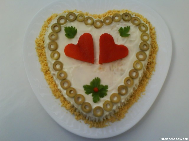 Ensaladilla para San Valentín  por Flori