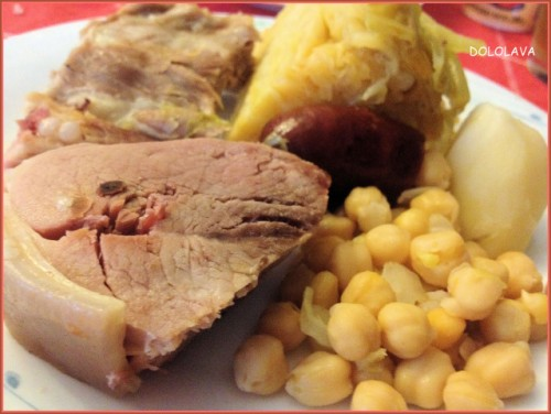 Receta: Cocido Gallego por Dololava
