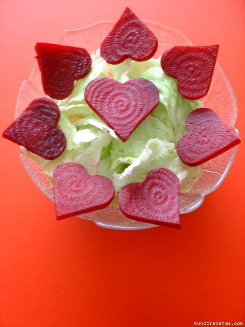 Ensalada Romántica para San Valentín por Alegna