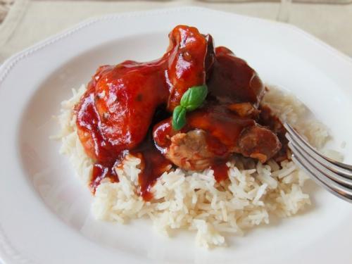 Pollo con Soja y Miel por Cocinand22