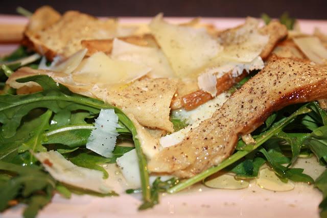 Receta: Ensalada de Boletus y Parmesano por Cucharita de Palo