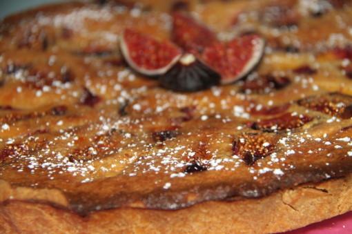 Receta: Tarta de Higos y Nectarinas por Aloa