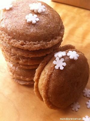 Macarons de Turrón por Norlla2