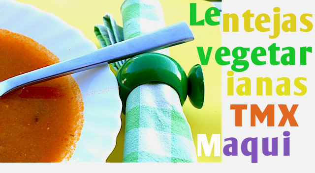 Lentejas Vegetarianas con Thermomix por Maquineta