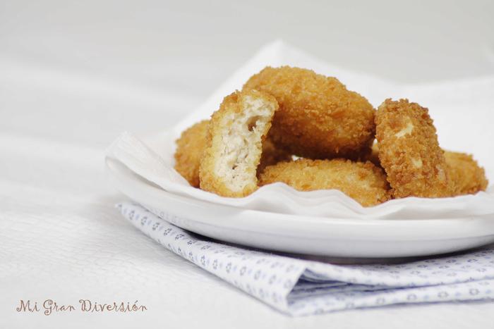 Nuggets de Pollo, Bacon y Queso por Mi Gran Diversión
