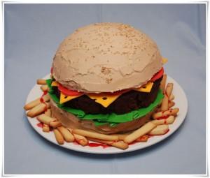 Tarta Hamburguesa por Estela278