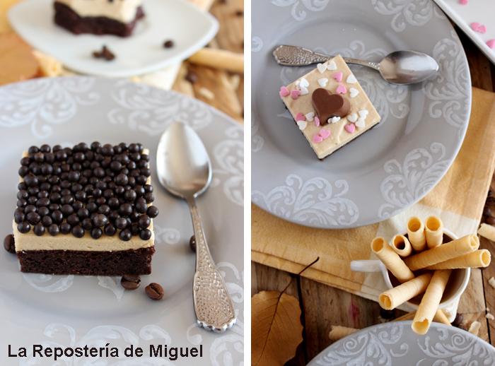 Brownie Mousse Espresso Especial San Valentin por La Repostería de Miguel