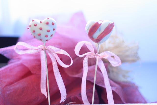 Cake Pops de Nocilla para San Valentín por Cucharita de Palo