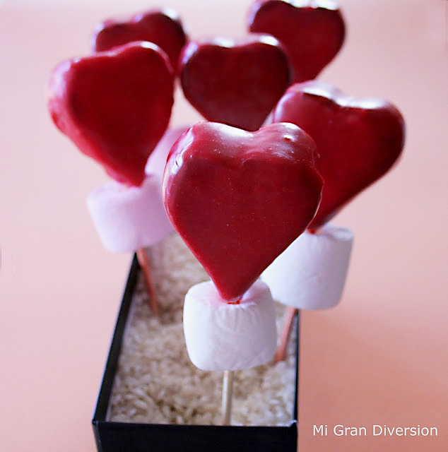 Cake Pops para San Valentín por Mi Gran Diversión