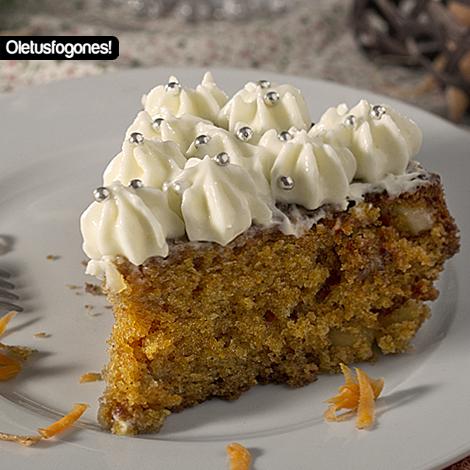 Carrot Cake o Pastel de Zanahorias por Juanjo84