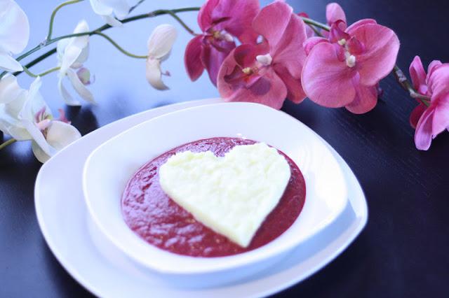 Crema de Remolacha para San Valentín por Cucharita de Palo