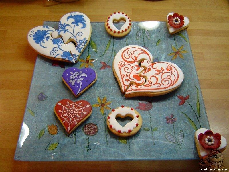 Galletas para San Valentín por Marisalas