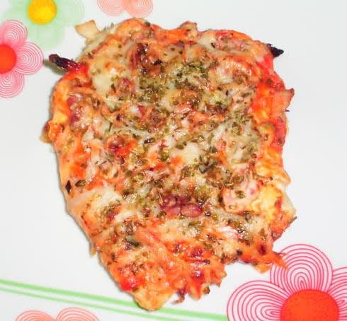Pechuga Pizza por Xena
