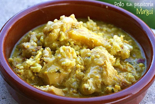 Pollo en Pepitoria por Maquineta