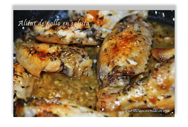 Alitas de Pollo en Salsita por Eriel