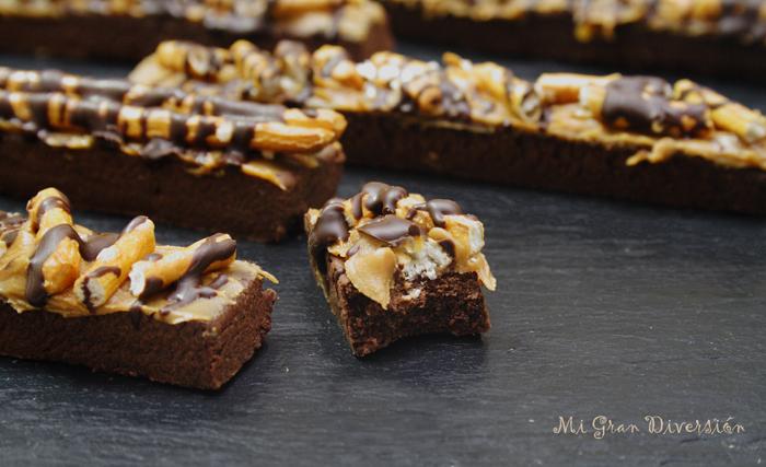 Galletas de Chocolate,Speculoos y Pretzel por MiGranDiversión