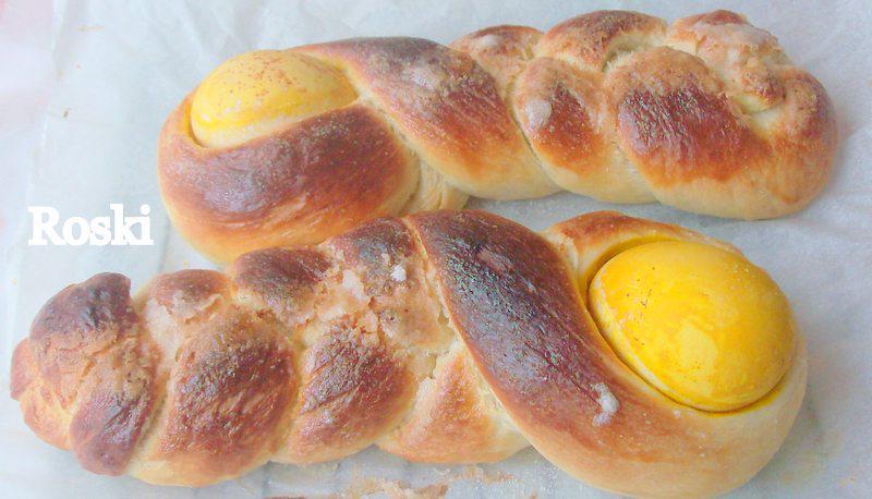Muñecas de Pan de Pascua Croata por Roski