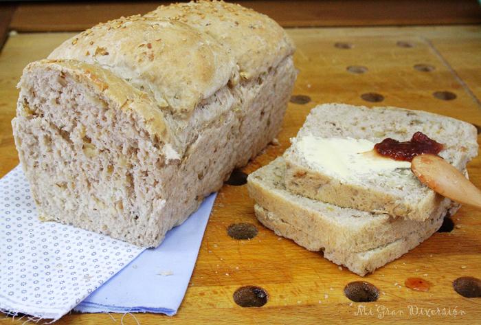 Pan de Nueces por MiGranDiversión