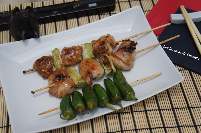 Pollo Yakitori por Sunflower