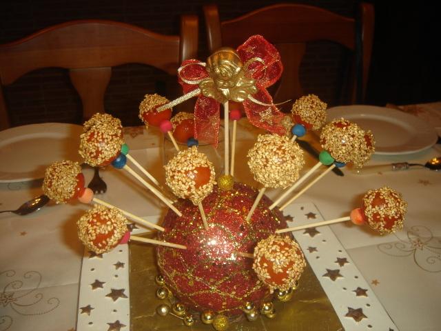 Adorno para mesa de navidad tomatitos con caramelo por isabeldelacuadra recetas de cocina - Adornos para la mesa de navidad ...