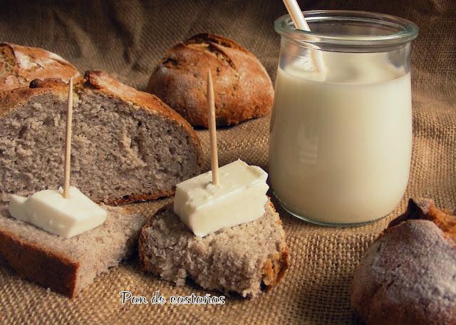 Pan de castañas por Dulcerio del bueno