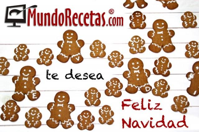 feliz navidad galletas jengibre
