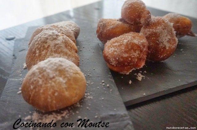 Buñuelos de viento al horno o fritos por Cocinando con Montse