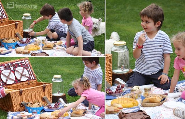Picnic en el campo prep ralo con tu peque - Comida para llevar de picnic ...