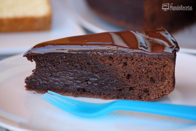 Pastel de chocholate brownie
