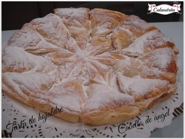 Tarta de hojaldre por Calandrita