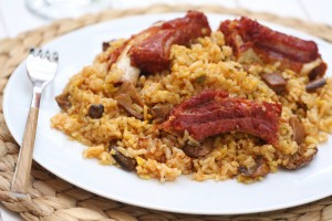 01-Arroz con setas y costillas