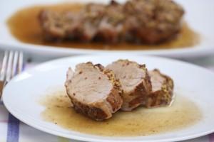 07-Solomillo de cerdo a la mostaza