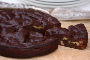 10-Brownie de chocolate con nueces
