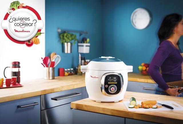 Recetas para cookeo el primer robot de cocina inteligente for Cocina inteligente