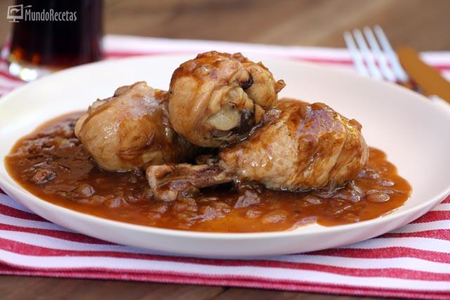 Pollo a la cocacola