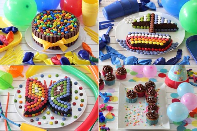 como hacer una tarta de cumpleaos infantil
