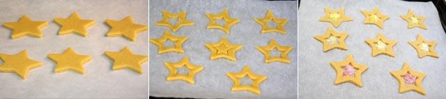 Preparacion galletas caramelo