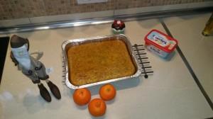 Bizcocho de mandarinas y semillas de amapola