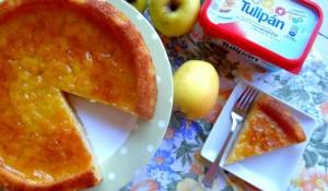 Pastel de manzana sin huevo por pasangara