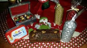 Plum-cake con tropezones de chocolate y nueces