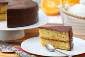 Tarta de naranja y chocolate y 10 consejos para que tus bizcochos salgan bien