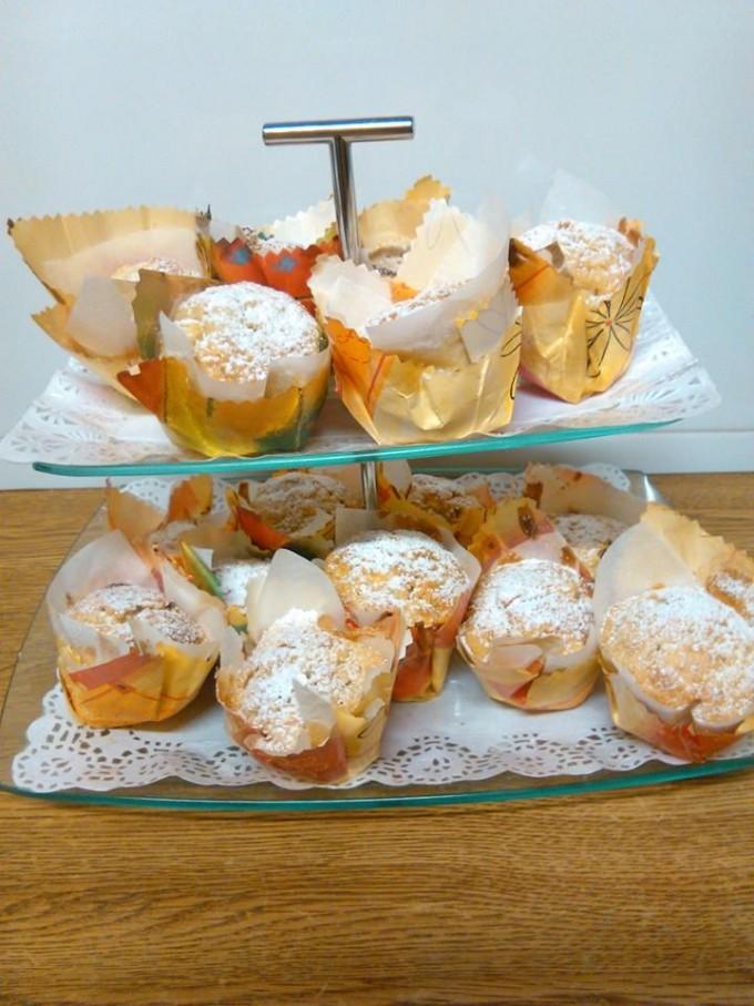 Muffins de manzana por Covaro. Thermomix.