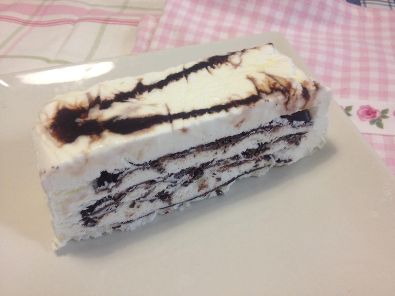 Tarta helada comtessa por Impema