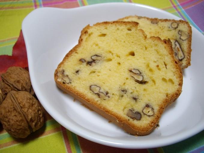 Bizcocho de nata y nueces por Bcorsitad